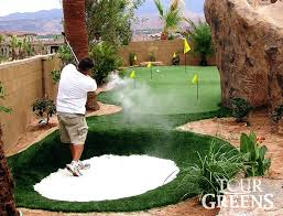 backyard putting green lighting houston putting greens synthetic inside backyard green cost designs