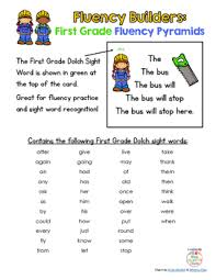 builders 41 dolch first grade sight word sentence pyramids