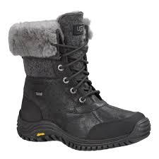 s ugg australia adirondack boot ii ugg australia adirondack boot ii 1008465 black leather 100