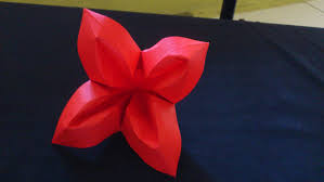 cara membuat bunga dari lipatan kertas cara membuat origami bunga terompet origami bunga dan tanaman