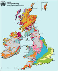 Brighton England Map by Make A Map A Geological Map Of Britain And Ireland Geology Of