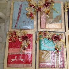 wedding gift decoration saree packing indian wedding treasured wrapping