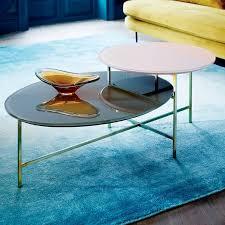 West Elm Etched Granite Coffee Table West Elm Glass Coffee Table Spindle Coffee Table West Elm