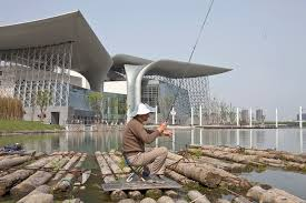 a cultural icon in china designed by finnish pes architects uncube