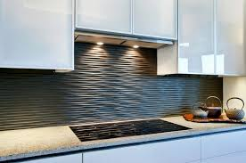 black backsplash in kitchen kitchen black graphic wavy backsplash kitchen backsplash tiles