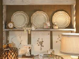 decorative wall plates french country kitchen decor inspiration
