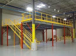 steel mezzanines and work platforms panel built