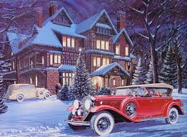 classic christmas a classic christmas print by ken eberts