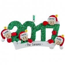family of four ornaments personalized ornaments for you
