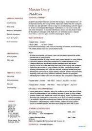 Child Care Worker Sample Resume 100 Child Care Worker Sample Resume Foster Care Social