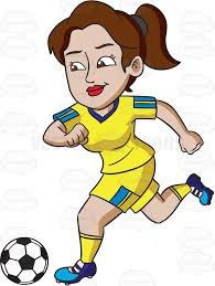 soccer player clipart cartoon images