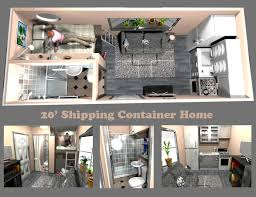 Floor Plans For Storage Container Homes A Very Space Efficient Floor Plan For A Container Home Container