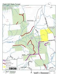 clark map clark hill state forest map nys dept of environmental conservation