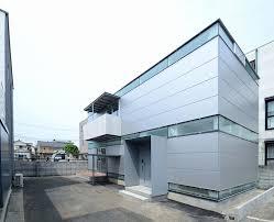 prefab steel house niji architects tokyo exterior humble