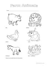 domestic animals printable worksheets domestic animals