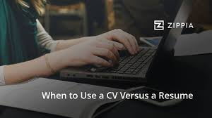 How To Hand In A Resume Here U0027s How To Decide When To Use A Cv Versus A Resume Zippia