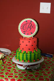 Watermelon Cake Decorating Ideas 49 Best Watermelons Theme Images On Pinterest Birthday Party