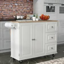 white kitchen island white kitchen islands carts you ll wayfair