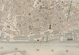 early maps of london and other cities and towns national library