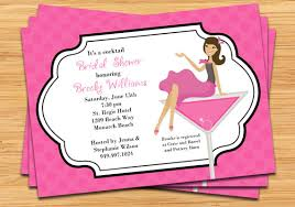 Make Your Own Bridal Shower Invitations Cocktail Bridal Shower Invitations Vertabox Com