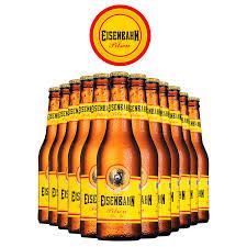 Preferidos Pack Cerveja Eisenbahn Pilsen c/ 12 itens - CervejaStore &EH65