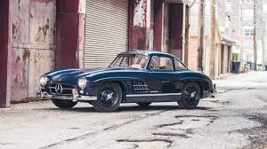 mercedes auction immaculate and awesome 1954 mercedes 300 sl gullwing auction