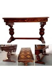 bureau de style bureau de style renaissance espagnole piètement à balustre