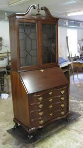Chippendale Secretary Desk by Richly