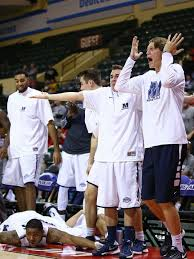 basketball bench celebrations ncaa finds monmouth bench celebrations are fine and fun