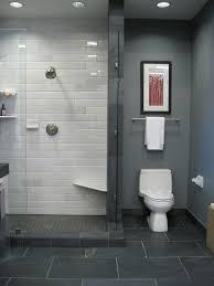 grey paint white metro tiles grey floor tiles interior design