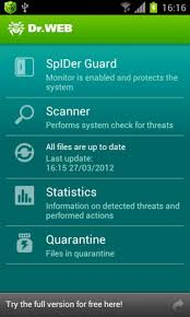 Dr Web Anti Virus Light Free 12 2 0 For Android Download