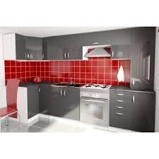 cuisine les moins cher cuisine compl te d 39 angle oxane pas cher en laqu brillant of