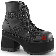 womens motorcycle shoes studded ranger womens gothic platform boot demonia gothic boots