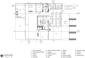 contemporary floor plan gallery of marfa contemporary gallery elliott associates
