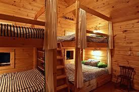 Cabin Bunk Beds Mesmerizing Cabin Bunk Beds Barn Wood Bunk Beds Rustic Bunk Beds