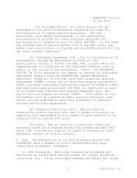 new prt standards navy prt instructions 6110 1 j