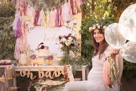 boho baby shower kara s party ideas burgundy blush gold boho baby shower