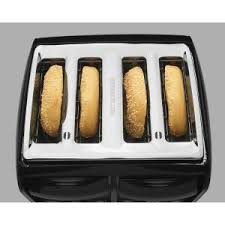 Hamilton Beach Digital 4 Slice Toaster Hamilton Beach 4 Slice Black Toaster 24121 The Home Depot