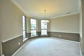 Two Tone Dining Room Paint Dining Room Paint Ideas With Chair Rail Two Tone Bedroom Paint