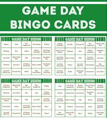 super bowl party games super bowl bingo super bowl party games