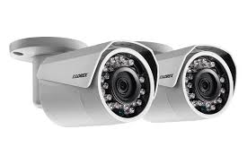 home security system with 2 hd 1080p security cameras featuring