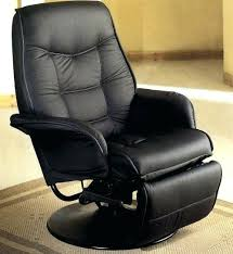 reclining chairs leather reclining leather chair with footstool