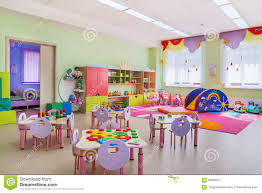 kindergarten game room stock photo image 66596377