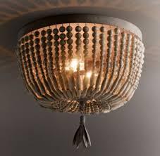 wood flush mount ceiling light dauphine wood flushmount