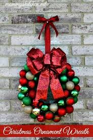 s kitchen diy ornament wreath