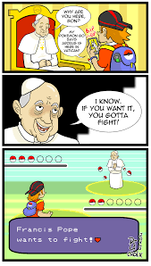 Pokemon Memes - trips to the vatican will never be the same after pok礬mon go