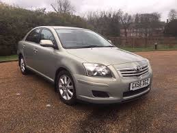 toyota avensis 2006 manual 1 8 petrol immaculate in out drives