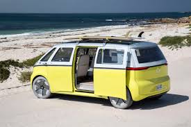 volkswagen hippie van volkswagen will bring its modern day all electric hippie microbus