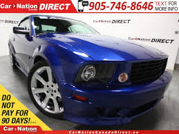 siege social ford used blue 2007 ford mustang for sale car nation canada direct