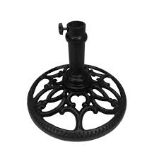 Patio Umbrella And Base Patio Umbrella Base Hd4101 Bk The Home Depot
